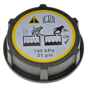 coolant recovery tank cap