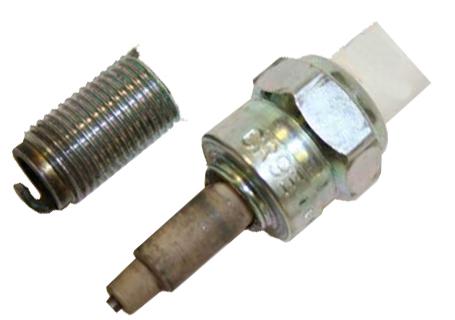 spark plug failure from improper torque