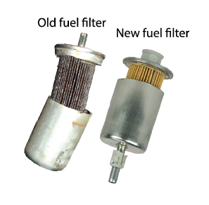replace fuel filter