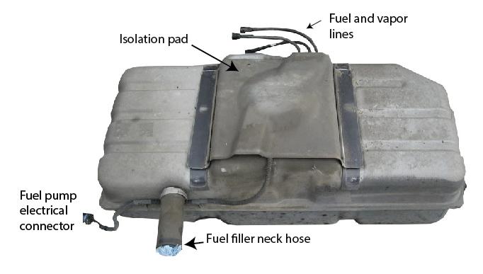 fuel tank and fuel pump