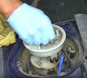 replace fuel pump