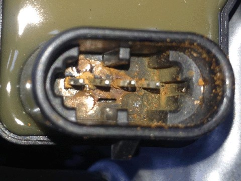 Check engine light and P0300 misfire codes on Silverado