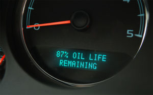 oil light on