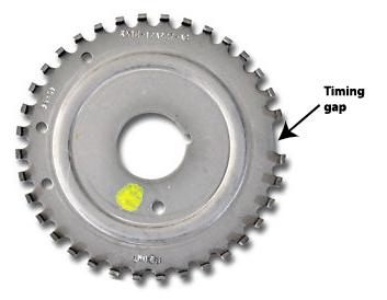 crankshaft tone wheel