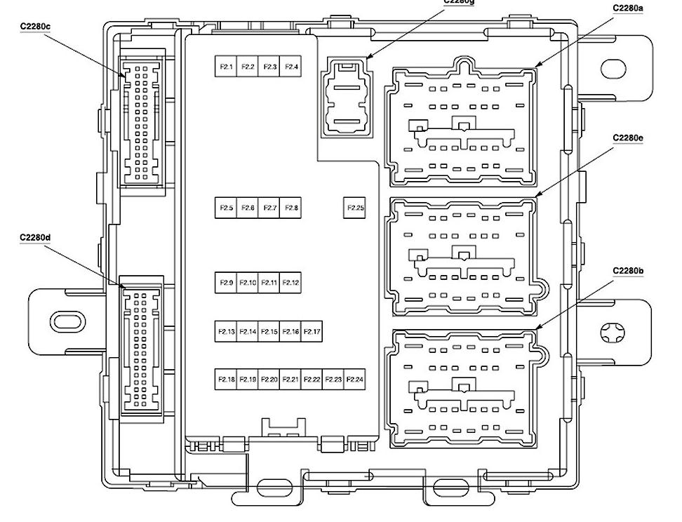 2006 Ford 500 Fuse Diagram Smart Junction Box