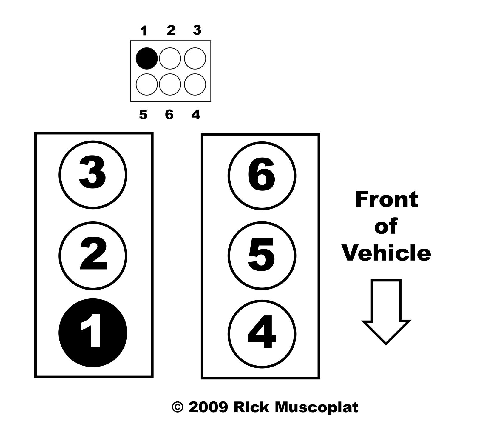 2008 Ford Explorer 4.0L Firing Order — Ricks Free Auto ...  Liter Engine Firing Order Diagram on