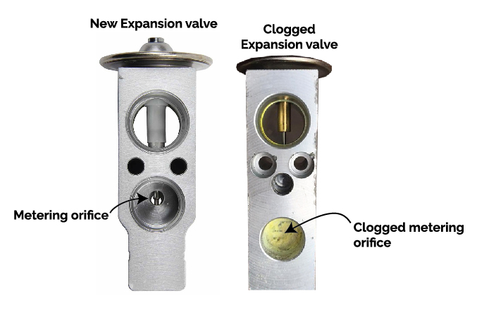 clogged expansion valve