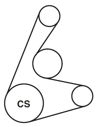 2014 Audi A4 Serpentine Belt Diagram