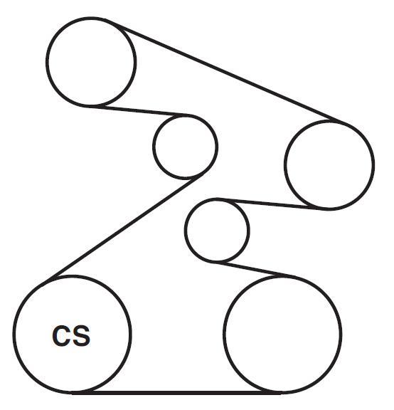 2007 acura tsx engine diagram 2007 acura serpentine belt diagrams     ricks free auto repair  2007 acura serpentine belt diagrams