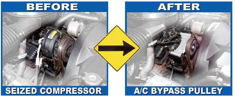 AC Compressor Bypass Pulley Ricks Free Auto Repair Advice