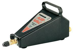 Air powered AC vacuum pump