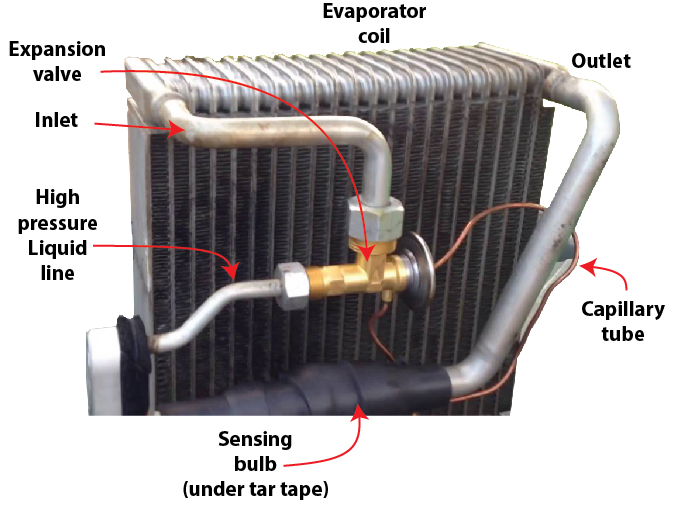 capillary tube expansion valve