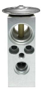 H-block style expansion valve