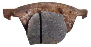 brake pad backing plate