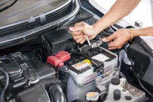 car battery, test alternator, test battery