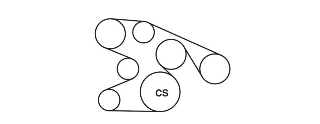 ford 4 6 v8 engine diagram 2005 ford f150 serpentine belt diagrams     ricks free auto repair  2005 ford f150 serpentine belt diagrams