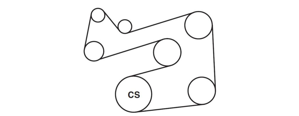 2005 ford escape serpentine belt diagrams \u2014 ricks free auto 2005 ford escape 4 cylinder serpentine belt diagram 2001 2005 ford escape and mercury mariner