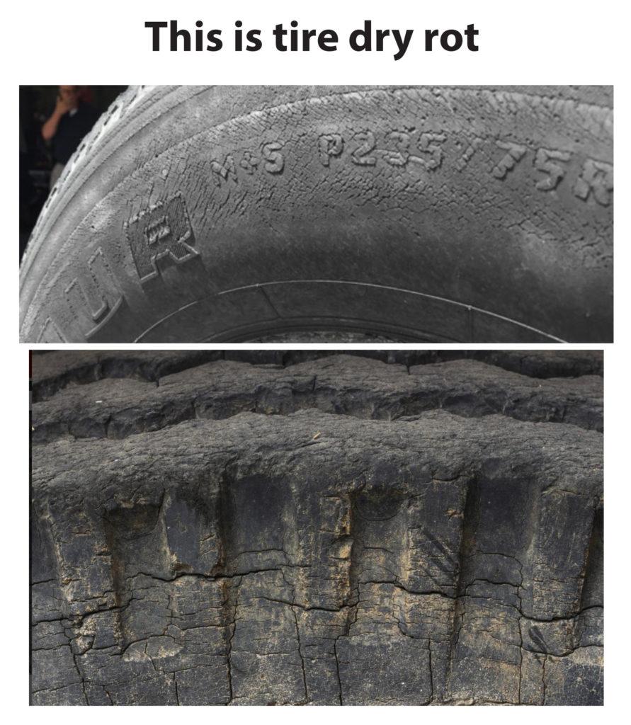 Tire Dry Rot >> What Is Tire Dry Rot Ricks Free Auto Repair Advice Ricks