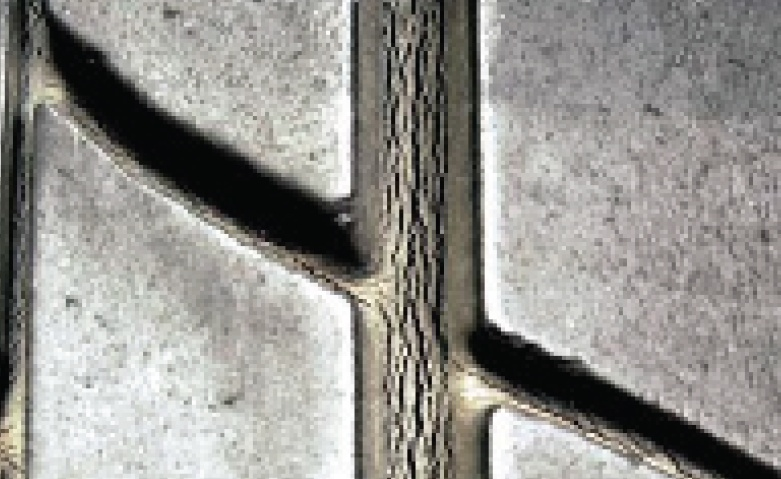 tire cracking in grooves
