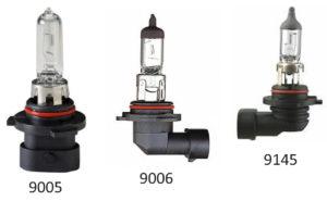 9005 9006 9145 headlight bulbs