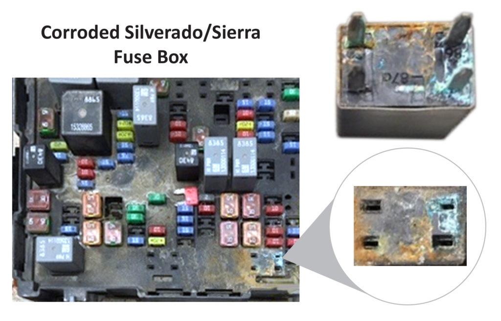 silverado dead battery