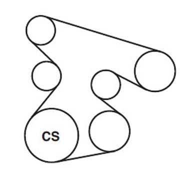 2008 audi a4 serpentine belt diagram
