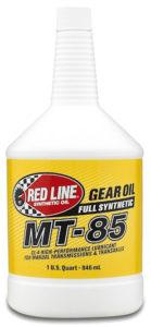 Red Line 50504_MT-85_GL-4_Gear_Oil_Quart-medium