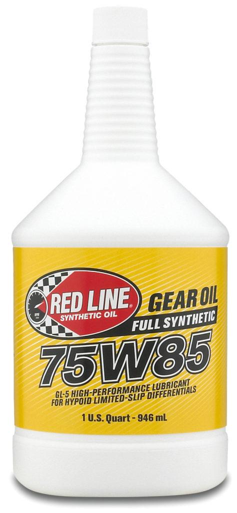 red Line 75w85 gear oil