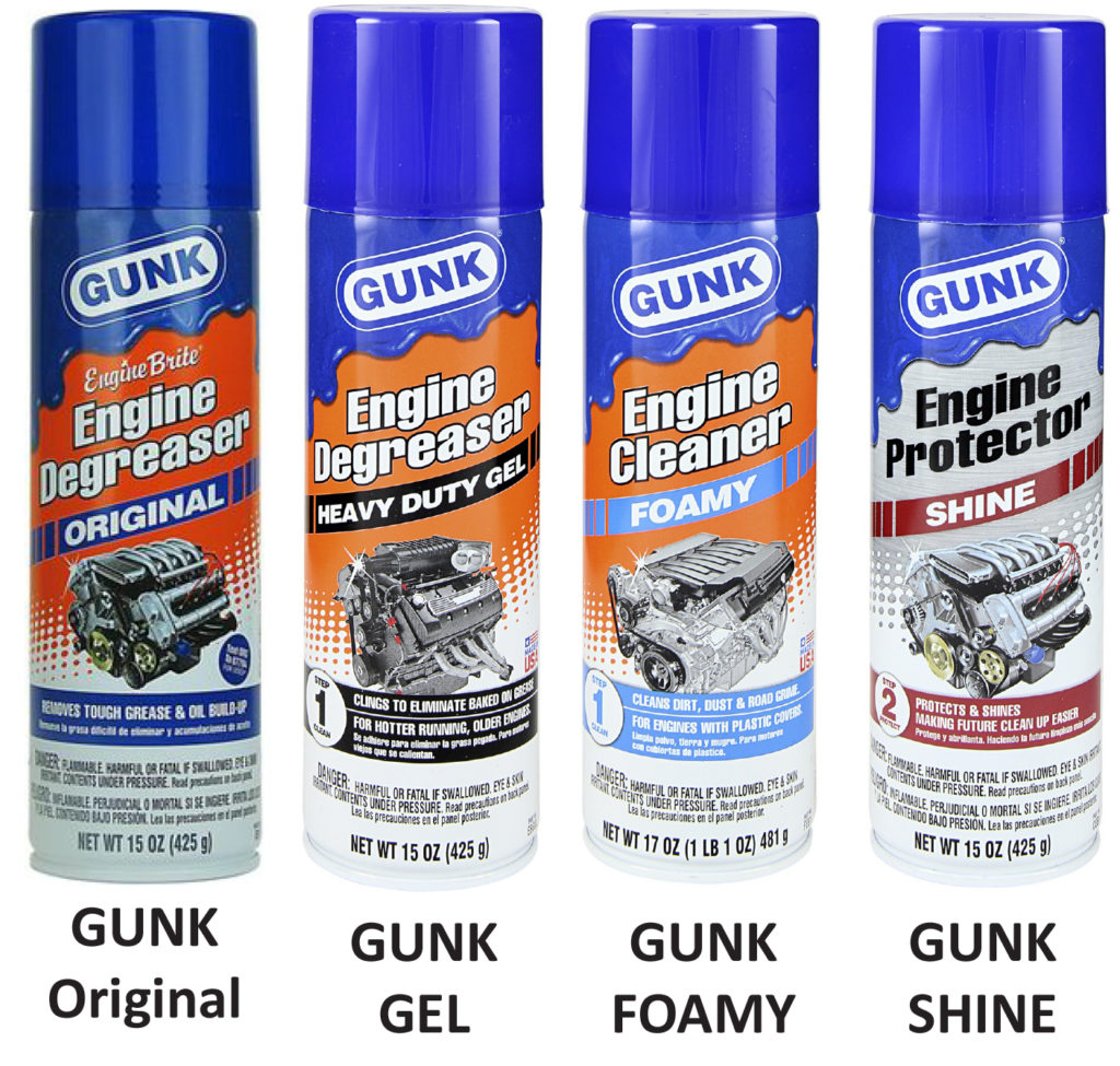 gunk engine degreaser products
