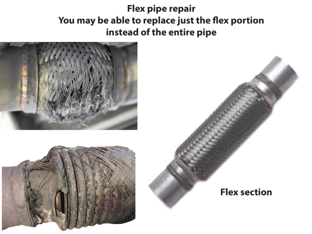 flex pipe repair exhaust