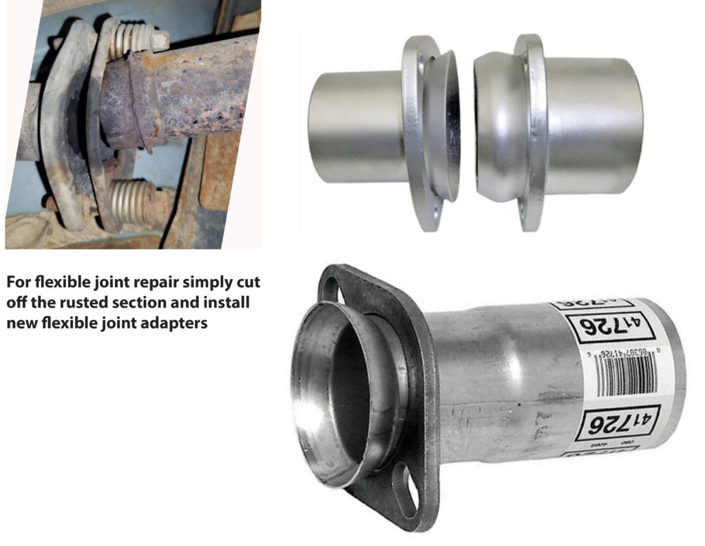 exhaust leaks at joints