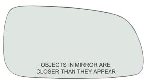 side view mirror glass
