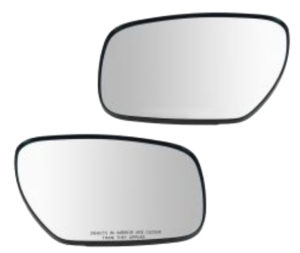 replacment side view mirror glass