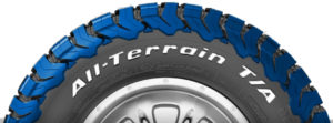 BFGoodrich ALL-TERRAIN T/A KO2 tire thicker shoulder