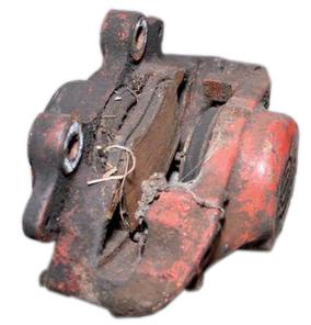 worn out brake caliper