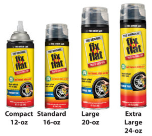 fix a flat can sizes
