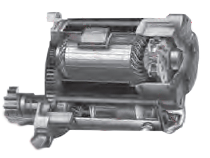 gear reduction start stop starter