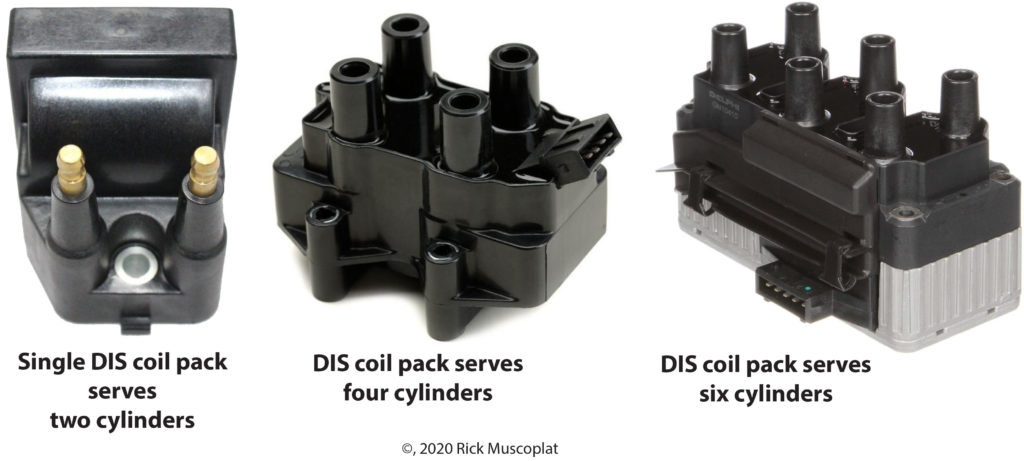 DIS ignition coil