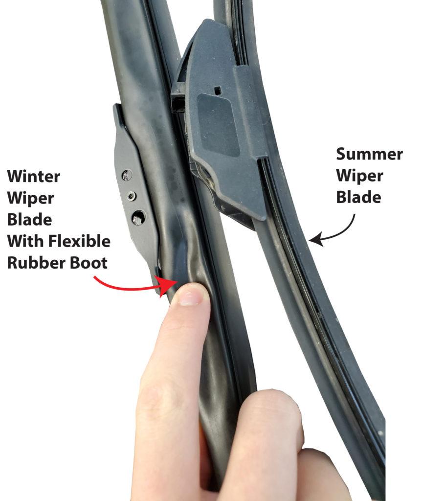 winter versus summer wiper blade