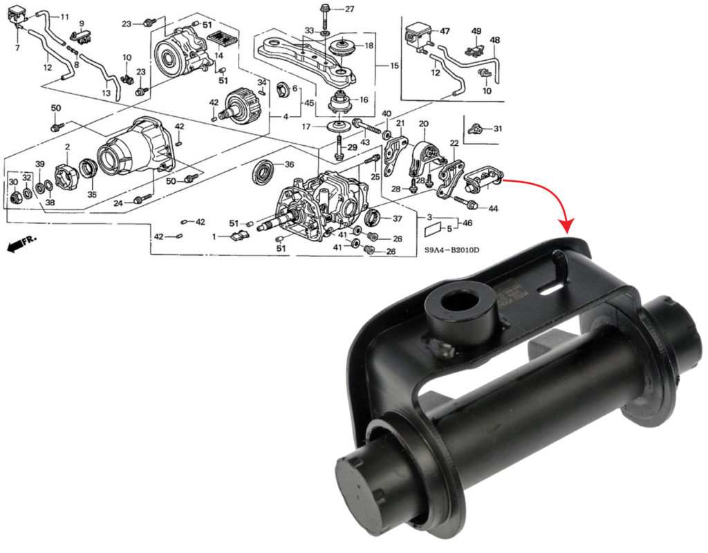 Honda rattle