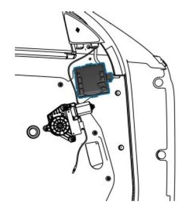 mercedes power window controller