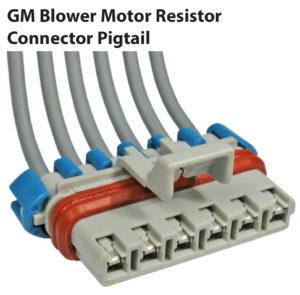 GM Blower Motor Resistor Connector Pigtail