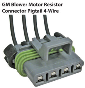 GM Blower Motor Resistor Connector Pigtail 4-Wire