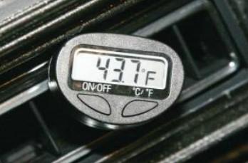 center duct temperature