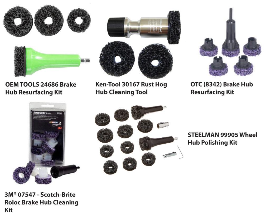wheel hub cleaning kits