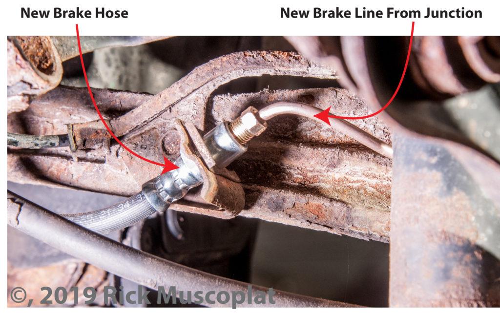 new brake hose and brake line