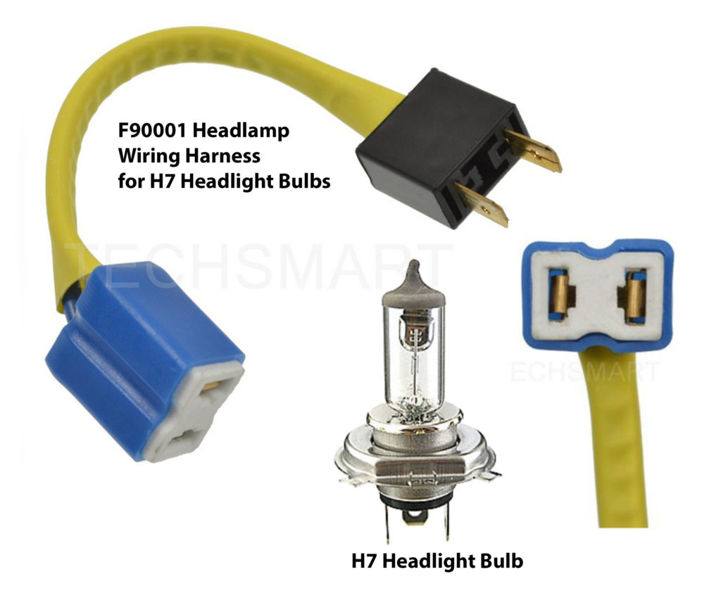 F90001 headlight connector