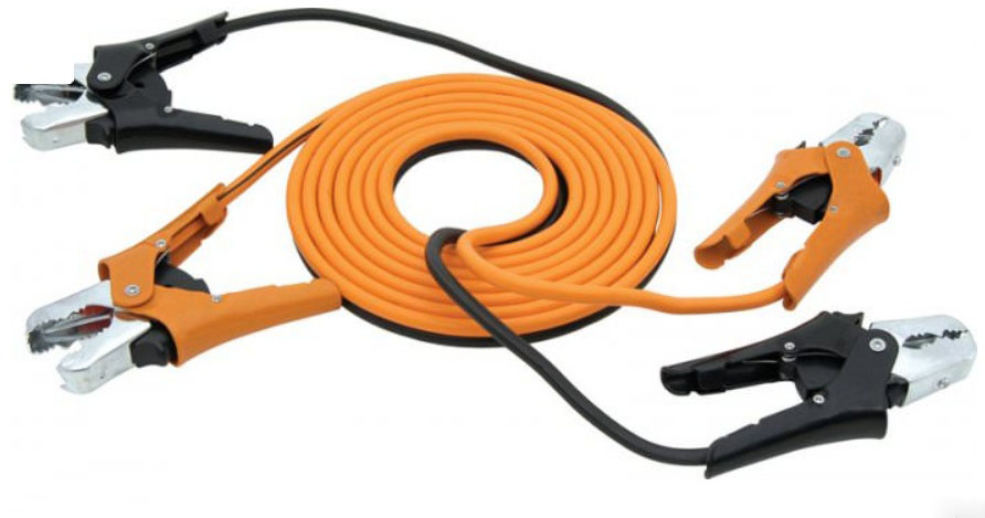 tangle free jumper cables