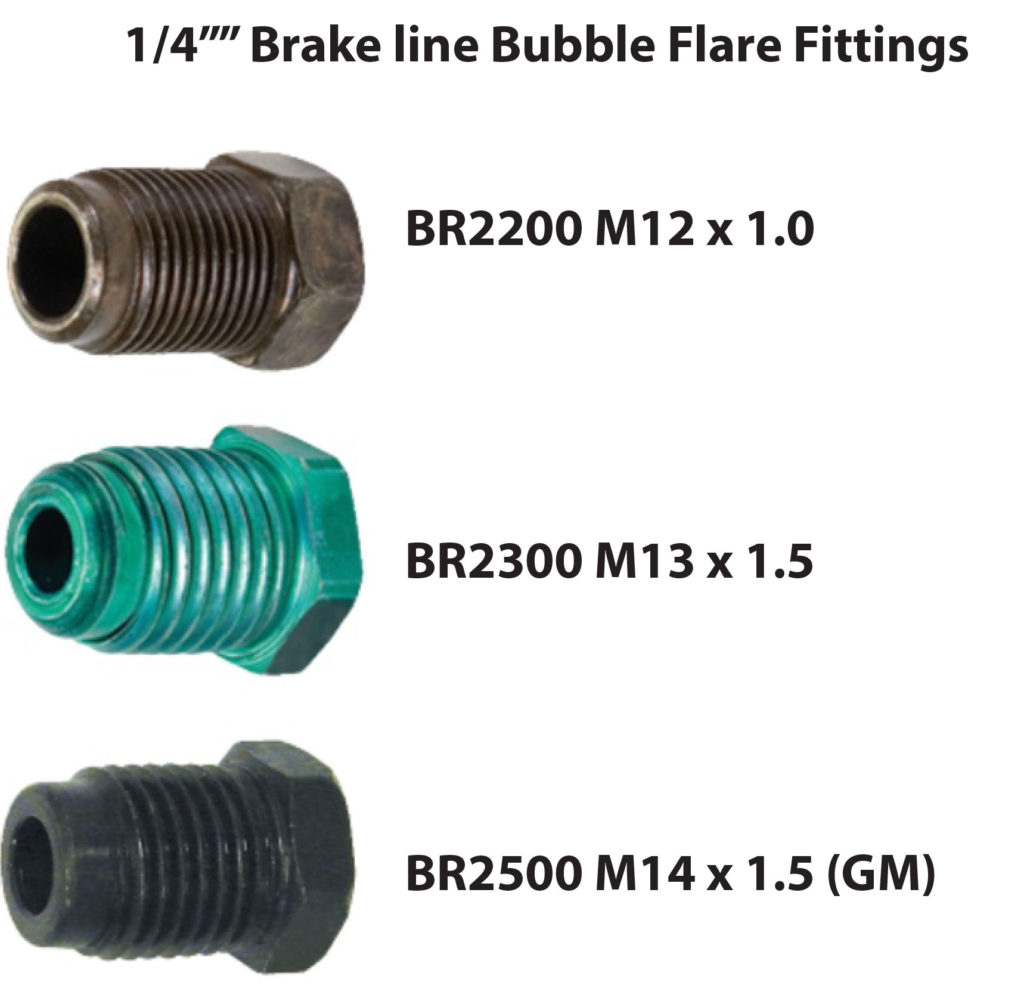 bubble flare fittings