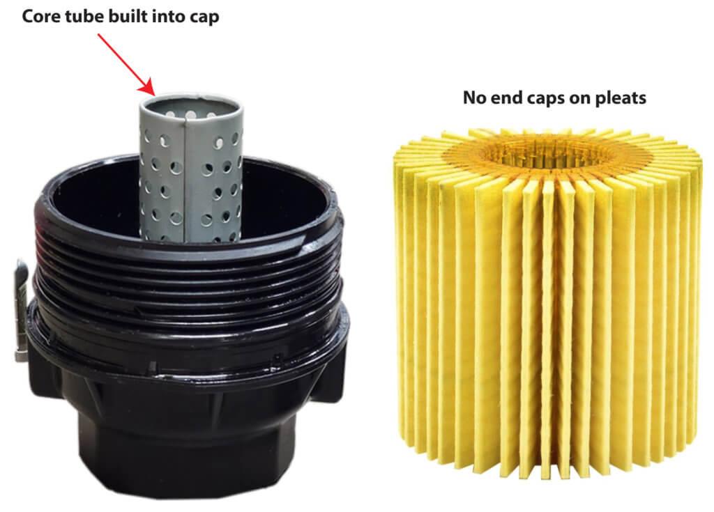cartridge style oil filter